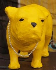 polar, salon, Concarneau, chien jaune