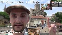Montmorillon, salon du livre, youtube, Polycarpe