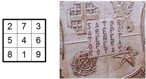 carré magique, énigme, coïncidences