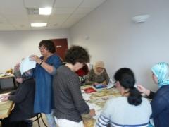 atelier d'écriture, Croix Rouge, illettrisme