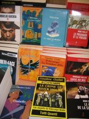 livres, cultura, polycarpe, romans policiers