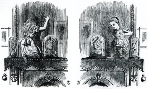 fiction et réel, miroir, traversée des apparences, polycarpe
